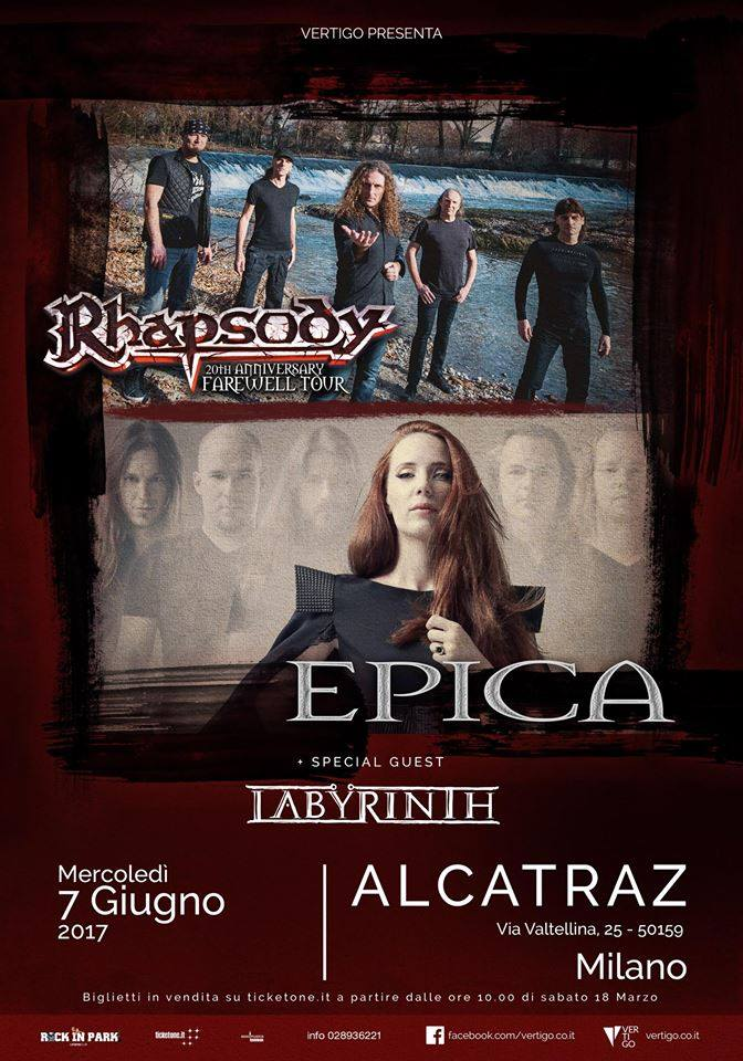 Labyrinth Live at Alcatraz ( With Epica + Rhapsody Reunion)