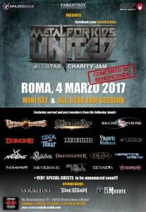 Metal For Kids. United! All-Star Charity Jam - Evento Beneficenza