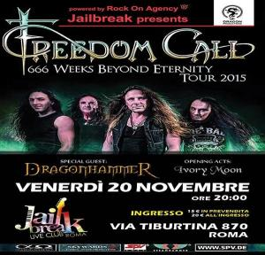 Freedom Call + Guest (ROMA)