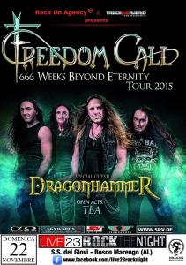 Freedom Call + Guest (ALESSANDRIA)